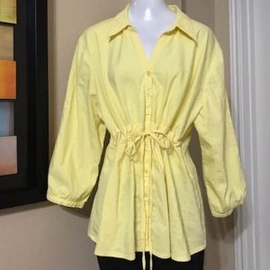 Cato Woman Yellow Top Size 22/24